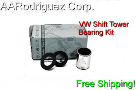 shifter tower bearing and bushing repair kit a4 vw jetta golf