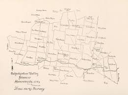 Map Of Berks County Pa Map Of The Tulephocken Valley Pioneer Homesteads 1723