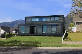 extraordinary 11 small prefab home plans modular house floor modern prefab home features black modular house idea and two floors