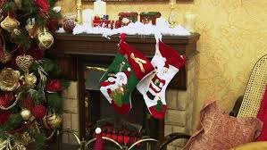 montage of christmas scenes with santa stock footage video 4677011