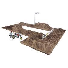 motocross race tracks jakks pacific mxs race track playset