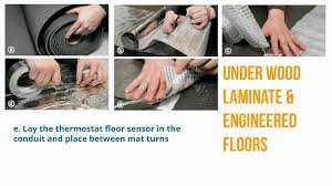 Laminate Flooring With Underfloor Heating 7 Things You Need To Know About Under Wood Underfloor Heating