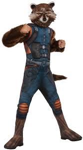 Raccoon Halloween Costumes Kids Deluxe Rocket Raccoon Costume Costume Craze