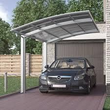 Ebay Carport Doppelcarport Aluminium Carport Satteldach Pavillon Bausatz