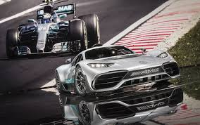 mercedes amg project one hypercar could be built alongside f1 cars