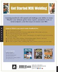 learn to weld beginning mig welding and metal fabrication basics