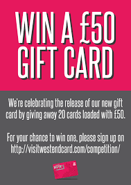 how to win gift cards introducing the visit west end card win a 50 gift card visit