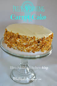 blue ribbon kitchen prize winning carrot cake eating your