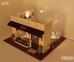 Modern Dollhouse Furniture Diy Compare Prices On Dollhouse Miniature Cafe Online Shopping Buy