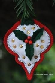 i made these ornaments years ago like about 20 i think they held