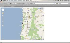 Google Maps By Coordinates Oregon Dive Conditions Google Maps Mashup Geo 565 Mashup