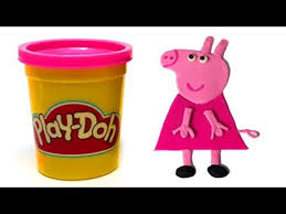 Peppa Pig Play Doh Songs In Play Doh How To Make Peppa Pig With Playdough By