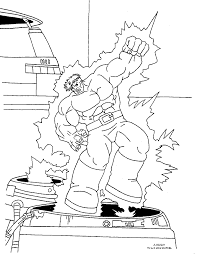 incredible hulk coloring pages hulk coloring pages