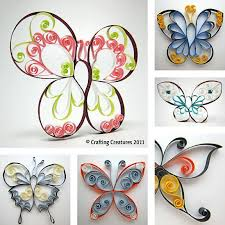 quilling designs tutorial pdf printable quilling patterns designs quilled butterfly pattern