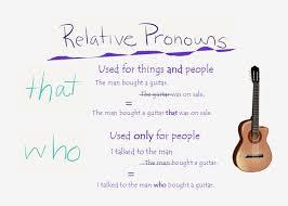 introduction to relative pronouns esl the rest of l u0027histoire