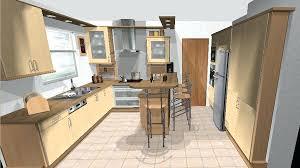 logiciel pour cuisine en 3d gratuit meuble de cuisine avec table integree 6 plan de masse maison meuble
