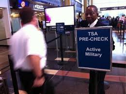 tsa precheck program for military members and veterans