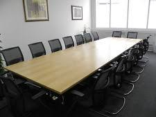 Black Boardroom Table Boardroom Table Ebay