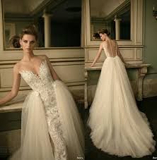 pretty wedding dresses 2016 berta bridal detachable skirt gown wedding dresses lace