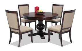 dining room table set gatsby 5 dining set with side chairs bob s discount