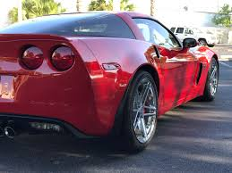 sold 2009 zo6 victory red 10 600 miles mint condition