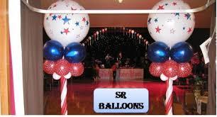 party balloon column decor sr balloons56 balloon advertising