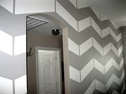 Painted Walls Best 25 Chevron Painted Walls Ideas Only On Pinterest Chevron