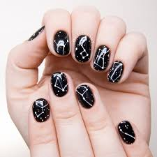 galaxy inspired diy constellations nail art to try styleoholic