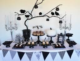 Black Halloween Cake by Black U0026 White Halloween Desert Table Kelly Warwick Cakes