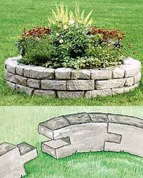 12 best round flower beds images on pinterest 3 4 beds kerb