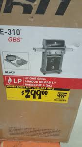 home depot black friday bbq weber e 310 gbs 299 home depot clearance ymmv slickdeals net