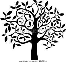 free swirl tree vector