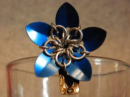 mail flowers scale mail flower hair pin by xocylessxo on deviantart