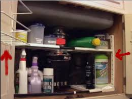 kitchen sink cabinet organizer sink cabinet organizer