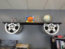 themed shelves diy wall shelf ideas up cycled chevron rilos mimi excerpt shelves