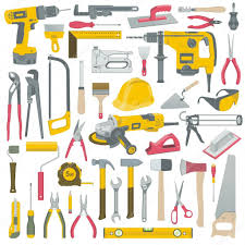 tools set u2014 stock vector volykievgenii 24252451
