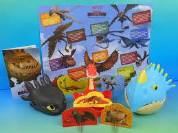 2015 dreamworks dragon u0027s set of 5 wendy u0027s kid u0027s meal toy u0027s video