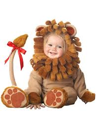 18 Month Boy Halloween Costumes Amazon Incharacter Costumes Baby U0027s Lil U0027 Lion Costume Clothing