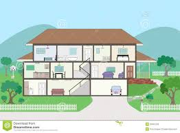 inside clipart house plan pencil and in color inside clipart