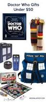 whovian cool gifts for doctor who fans under 100