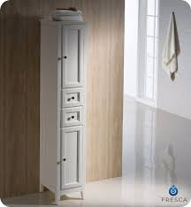 Bathroom Linen Cabinet Gym Equipment Fresca Oxford Antique White Tall Bathroom Linen Cabinet