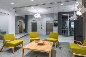 frontier bank interior design by canfield business interiors