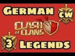 german legends clankrieg nr 3 teil 1 clash of clans cw