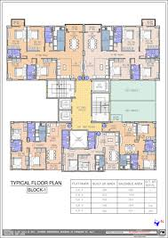 floor plan meridian group meridian splendora at bt road kolkata