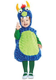 Furry Monster Halloween Costume by Toddler Terror In A Tutu Green Costume