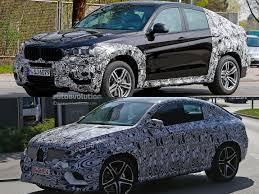 mercedes benz jeep 2015 2015 mercedes benz mlc vs 2015 bmw x6 spyshots autoevolution