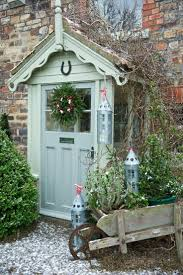 Cottage Home Decorating Ideas Country Door Decorating Ideas Khosrowhassanzadeh Com