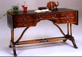 bureau en anglais bureau anglais georgian 5 tiroirs longfield 1880