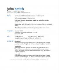 modern resume templates simple modern resume template for pages free iwork templates