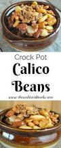 crock pot calico beans recipe with bacon and ground beef